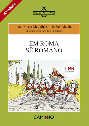 caminho em roma s234 romano isabel al231ada